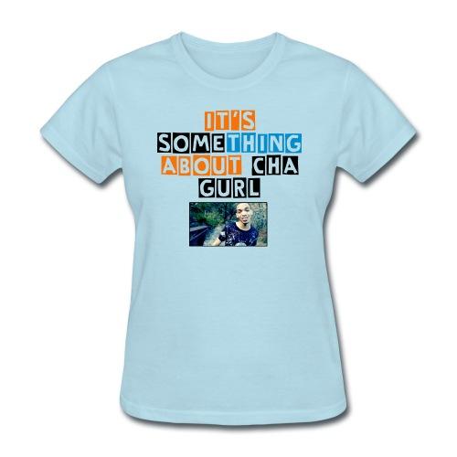 adjusted somethinggurl - Women's T-Shirt