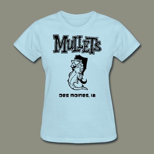 mulletmain black - Women's T-Shirt