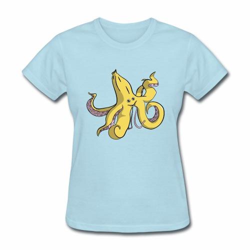 Banana Octopus - Women's T-Shirt