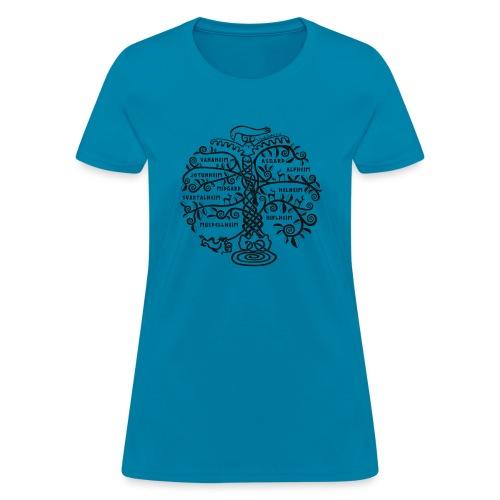 Yggdrasil - The World Tree - Women's T-Shirt