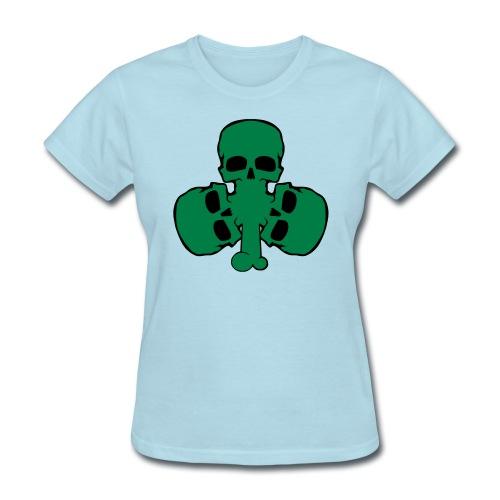 skull_shamrock - Women's T-Shirt