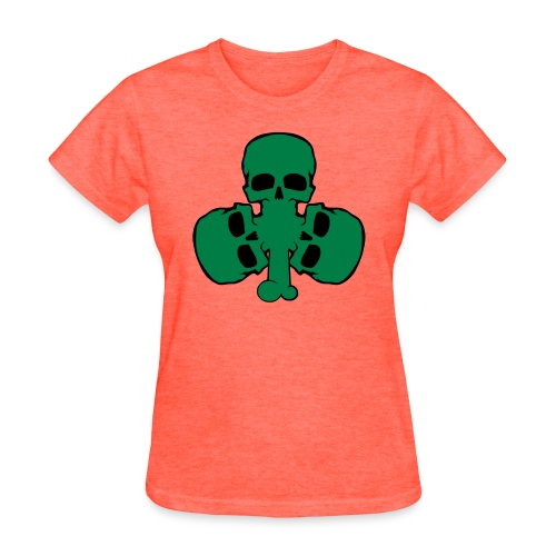 skull_shamrock - Women's T-Shirt