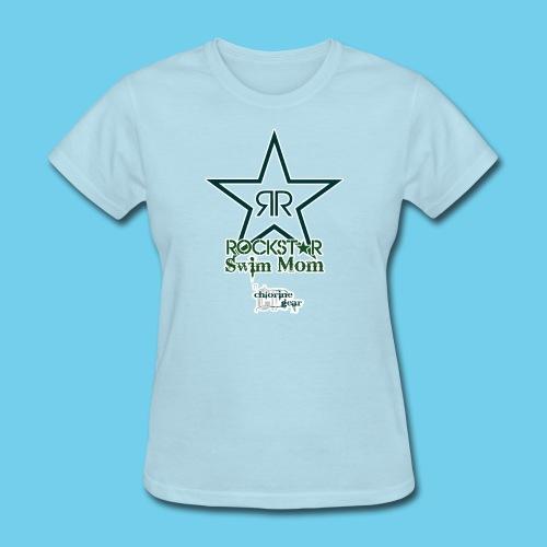 Rockstar Swim Mom - Women's T-Shirt