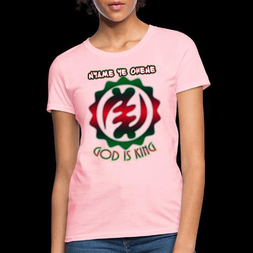 God is King Adinkra - Women's T-Shirt