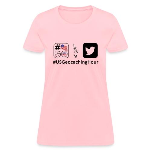 USGeocachingHour - Women's T-Shirt