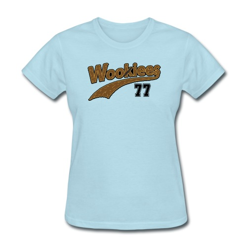 Wookiees Baseball - Women's T-Shirt