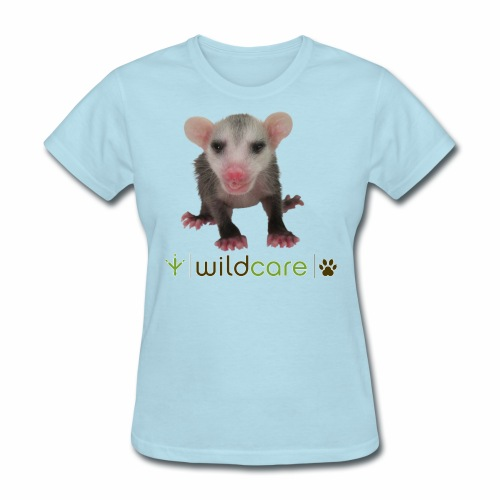 Baby Opossum in Care at WildCare - Women's T-Shirt