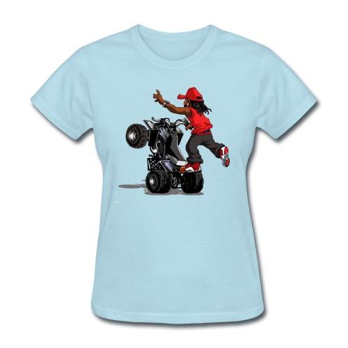 yamaha banshee stunt - Women's T-Shirt