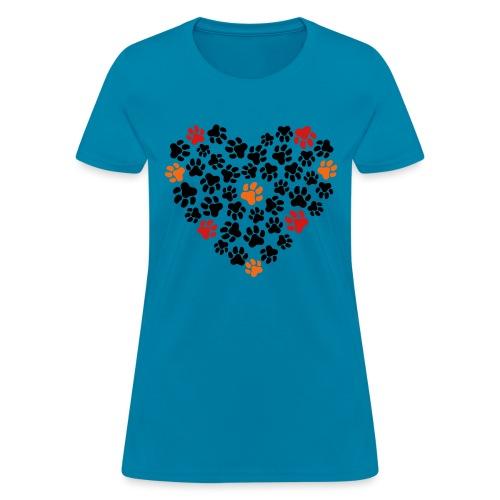 Animal Love - Women's T-Shirt