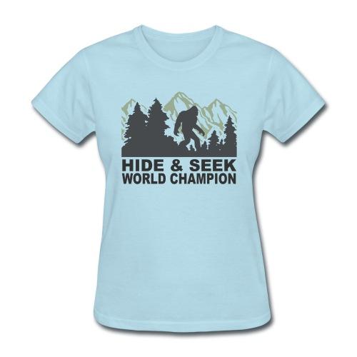 Bigfoot World Champ - Women's T-Shirt