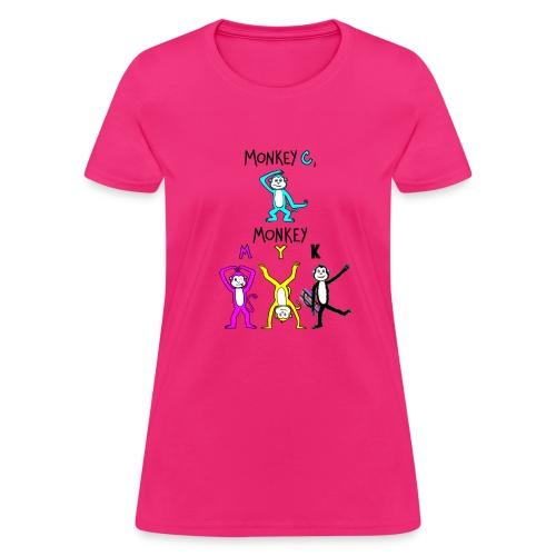 monkey see myk - Women's T-Shirt