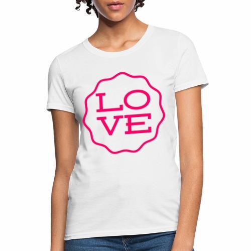 love design - Women's T-Shirt