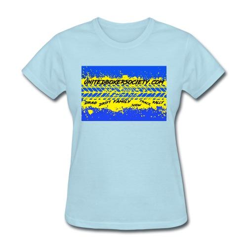 BUMPERSTICKER SPLATTER - Women's T-Shirt
