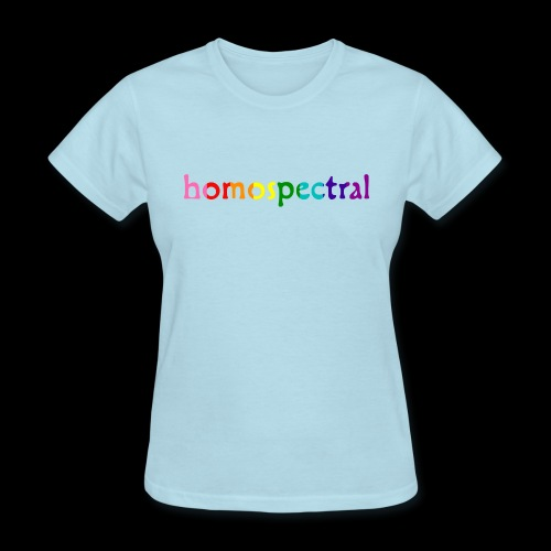 homospectral - Women's T-Shirt