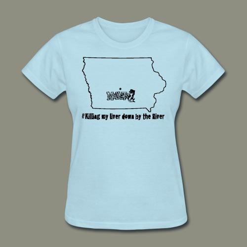 river black - Women's T-Shirt