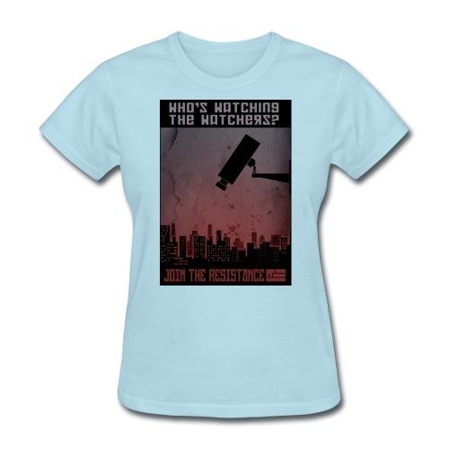 whos watching the watchers - Women's T-Shirt
