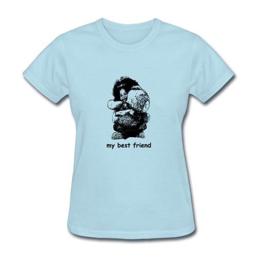 My best friend (girl) - Women's T-Shirt