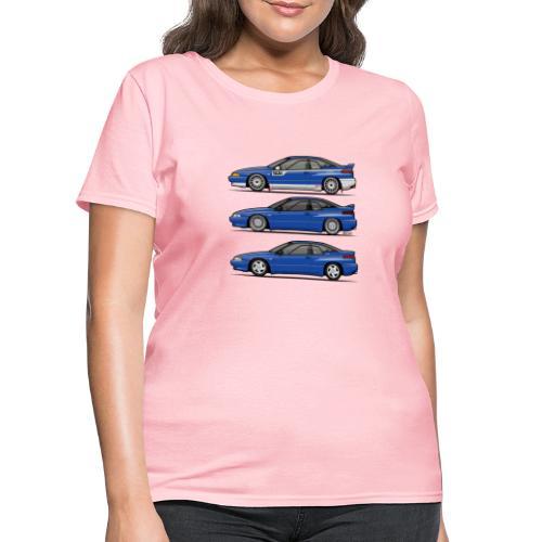 Subie Alcyone SVX Laguna Blue Pearl Trio - Women's T-Shirt