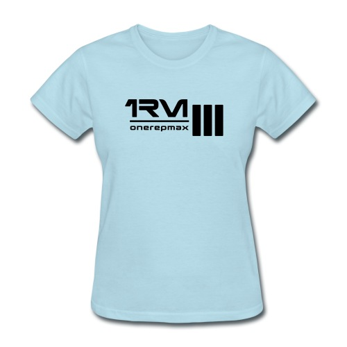 1rm logo final - Women's T-Shirt