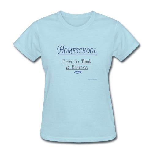 Homeschool Freedom - Women's T-Shirt