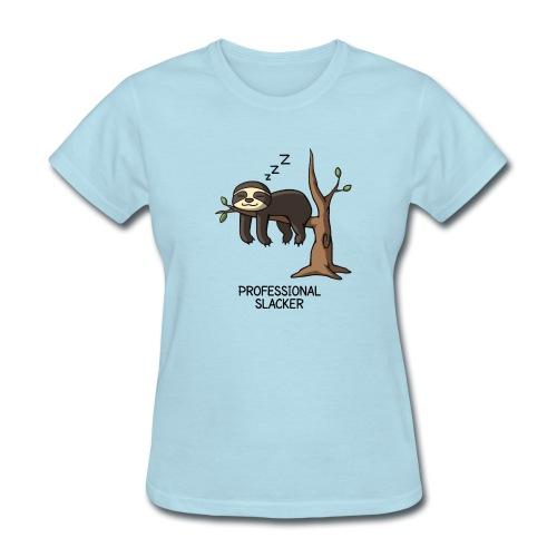 Professional Slacker Sloth - Women's T-Shirt