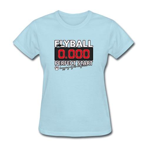 perfect start flyball - Women's T-Shirt