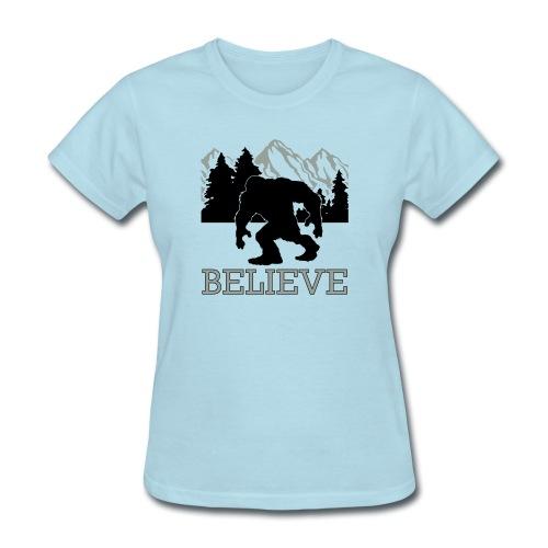 Believe - Women's T-Shirt