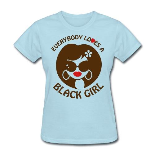 everybodyloves3 - Women's T-Shirt