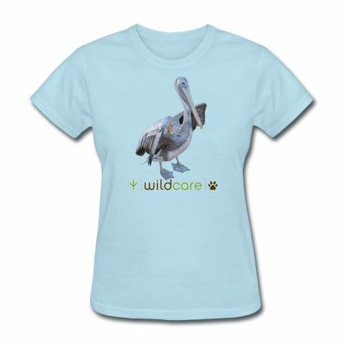 Baja the Brown Pelican - Women's T-Shirt