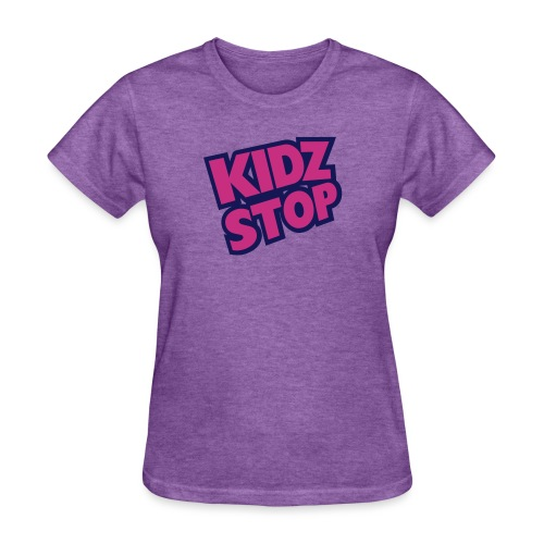 kidz stop 2color - Women's T-Shirt