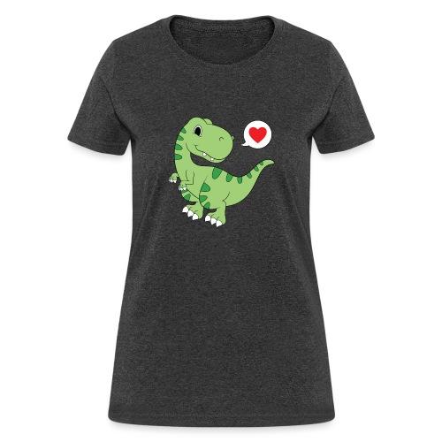 Dinosaur Love - Women's T-Shirt