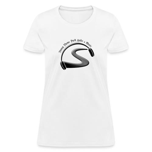 logo black on black - Women's T-Shirt