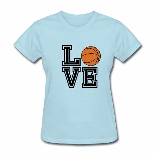 basketball love - Women's T-Shirt