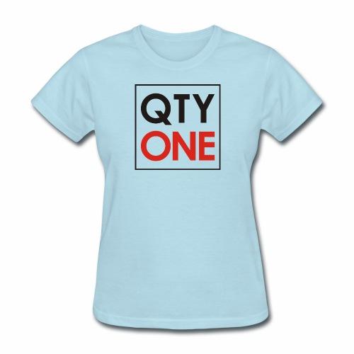 QTYONE Logo - Women's T-Shirt