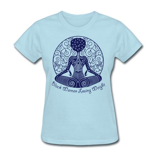 Black Weight Loss Success - Women's T-Shirt