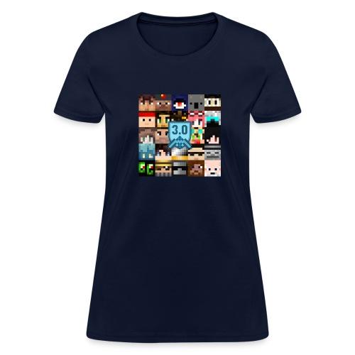 faces3box - Women's T-Shirt