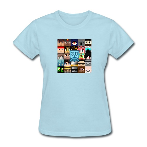 faces3box - Women's T-Shirt