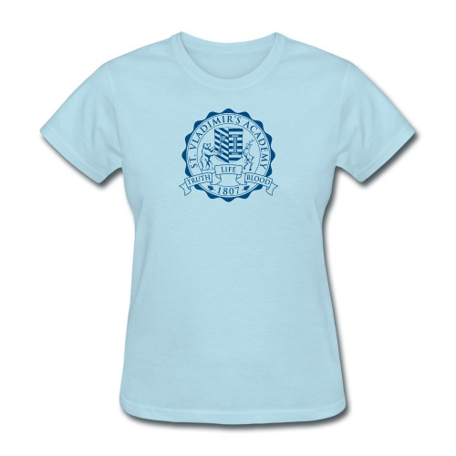 stv crest navy lmdesigns - Women's T-Shirt