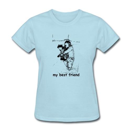 My Best Friend (baby) - Women's T-Shirt
