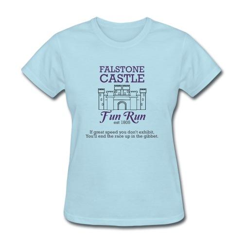 Falstone Castle Fun Run - Women's T-Shirt