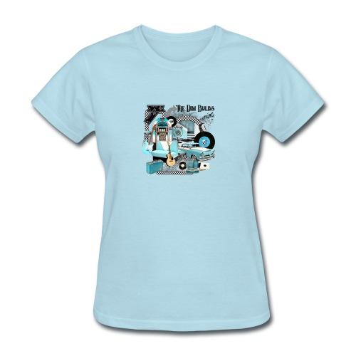 The Dim Bulbs - Women's T-Shirt