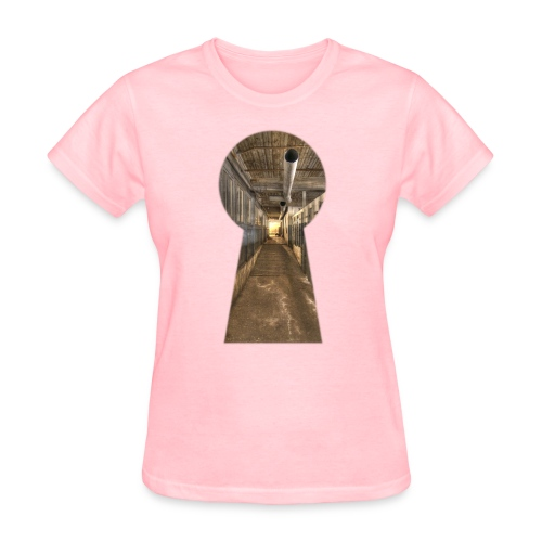 silk mill keyhole color - Women's T-Shirt
