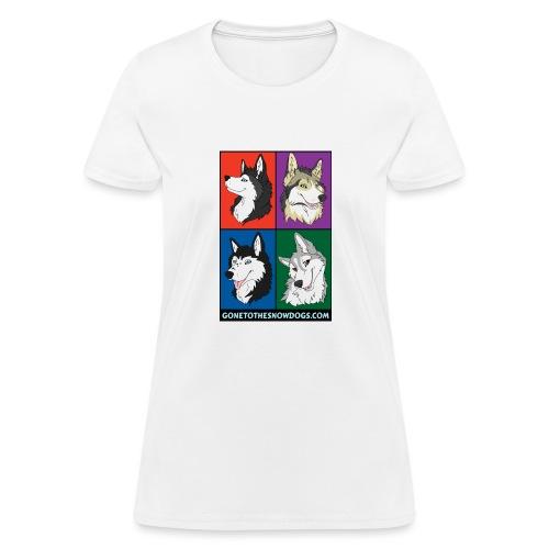 The Husky Girls - Women's T-Shirt