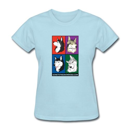 The Husky Girls - Women's T-Shirt