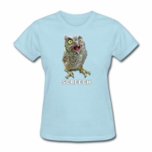 Screech Owl Patient at WildCare - Women's T-Shirt