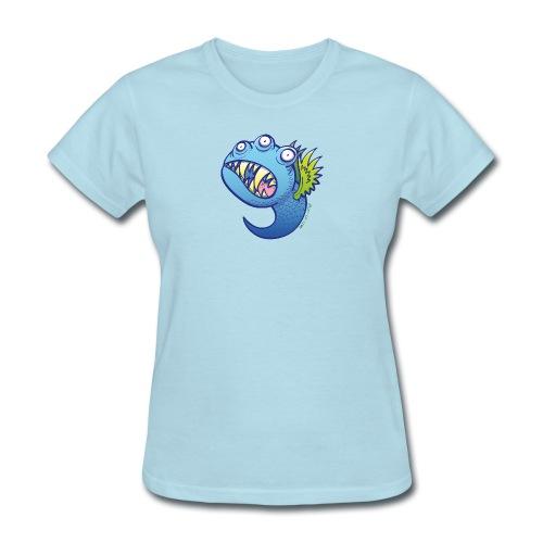 Winged little blue monster - Women's T-Shirt