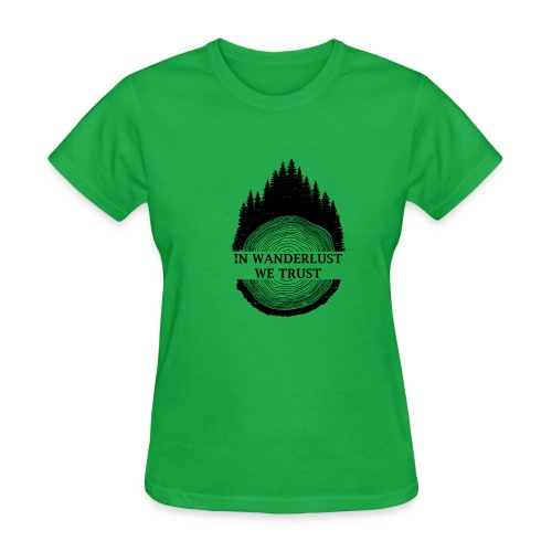 In Wanderlust We Trust - Women's T-Shirt