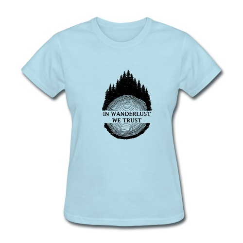 In Wanderlust We Trust - Women's T-Shirt