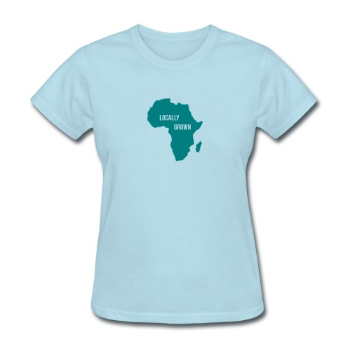Africa Locally Grown - Women's T-Shirt