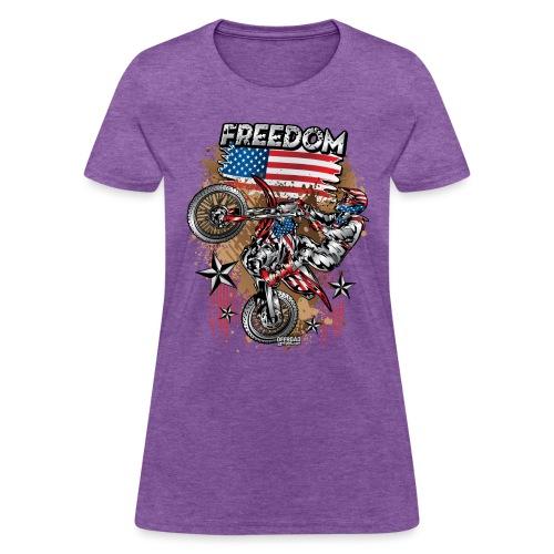 Motocross USA - Women's T-Shirt